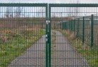 Appletree Flat Security fencing 12