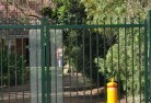 Appletree Flat Security fencing 14